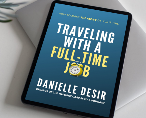 Tips for traveling with a career by author Danielle Desir