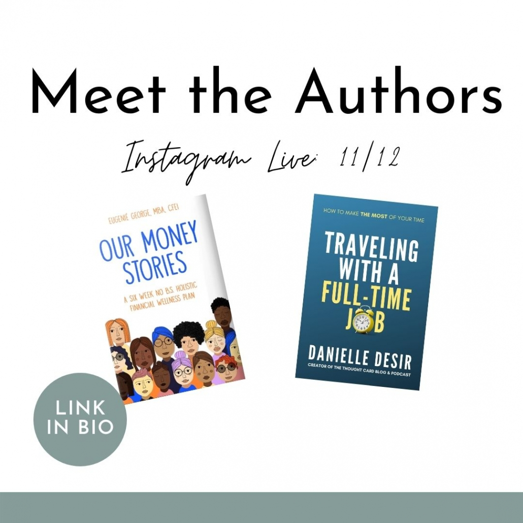 Meet Author Danielle Desir and Author Eugenie George.