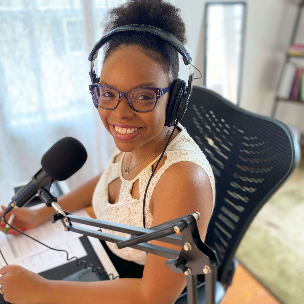 Danielle Desir Podcast Coach and Host of The Thought Car Podcast
